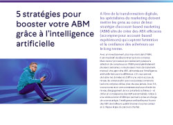 Infographics 5 strategies pour booster ABM intelligence artificielle FR 250x180